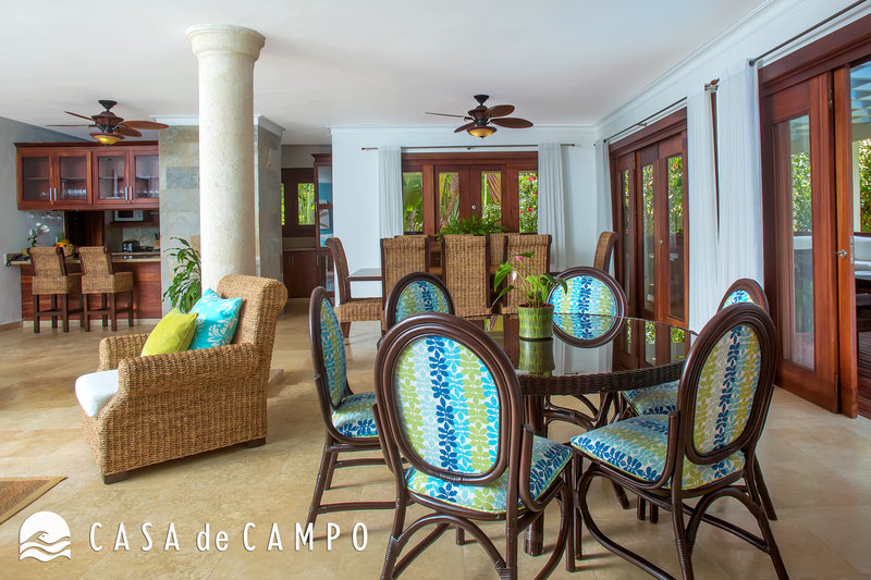 Casa De Campo - Villa Acqua 3Bdr GDV - Dining Area 2.JPG <br/>Image from Leonardo
