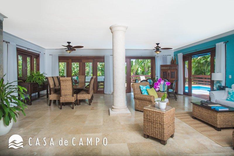 Casa De Campo - Villa Acqua 3Bdr GDV -  Living Area 3.JPG <br/>Image from Leonardo