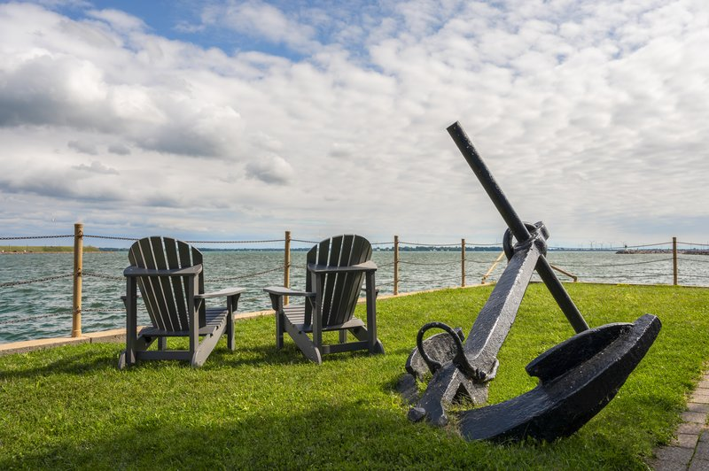 Holiday Inn Kingston - Waterfront-Sitting on hotel ground looking over Wholfe Island<br/>Image from Leonardo