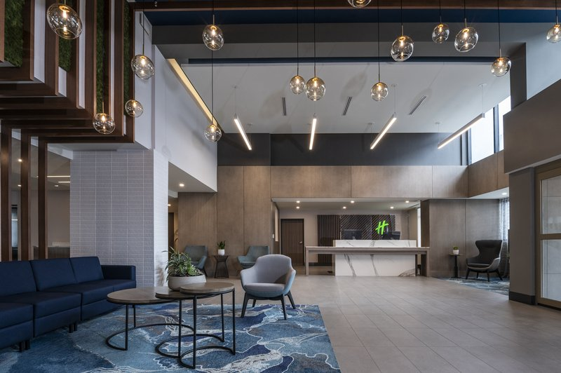 Holiday Inn Kingston - Waterfront-Modern spacious welcoming entrance and lobby<br/>Image from Leonardo