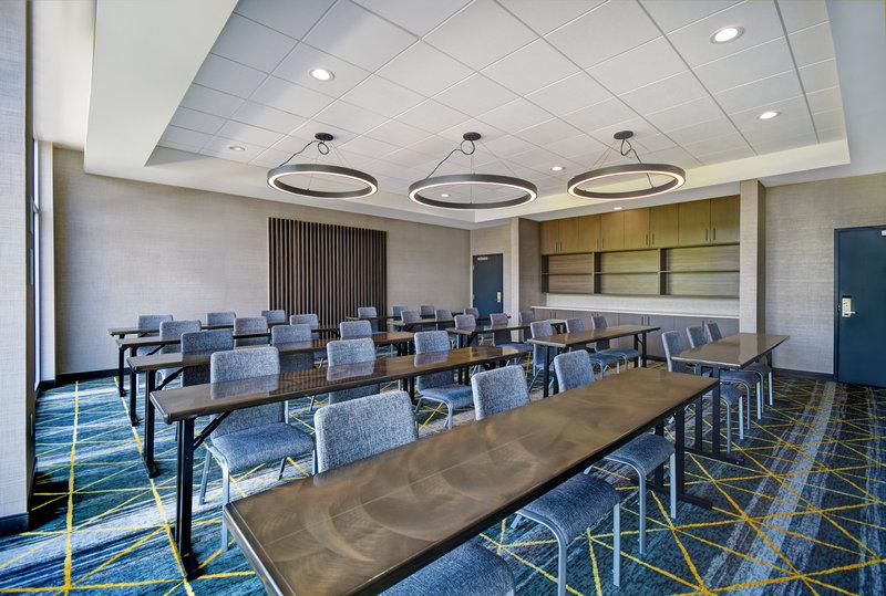 Holiday Inn Grand Rapids North-Meeting Room Classroom Style<br/>Image from Leonardo