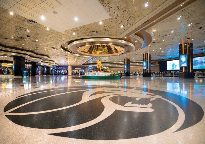MGM Grand Hotel & Casino - MGM Grand Lobby <br/>Image from Leonardo