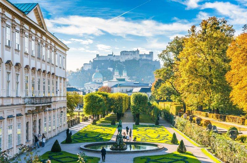 Holiday Inn Salzburg City-Mirabellgarden, Oldtown and Fortress Hohensalzburg<br/>Image from Leonardo