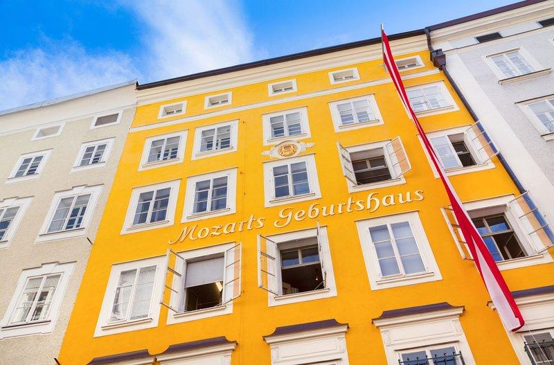 Holiday Inn Salzburg City-Visit the Birthplace of prodigy Wolfgang Amadeus Mozart<br/>Image from Leonardo