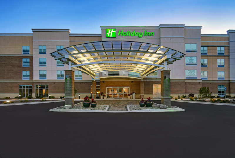 Holiday Inn Grand Rapids North-Exterior of the new Holiday Inn Grand Rapids North - Walker Hotel<br/>Image from Leonardo