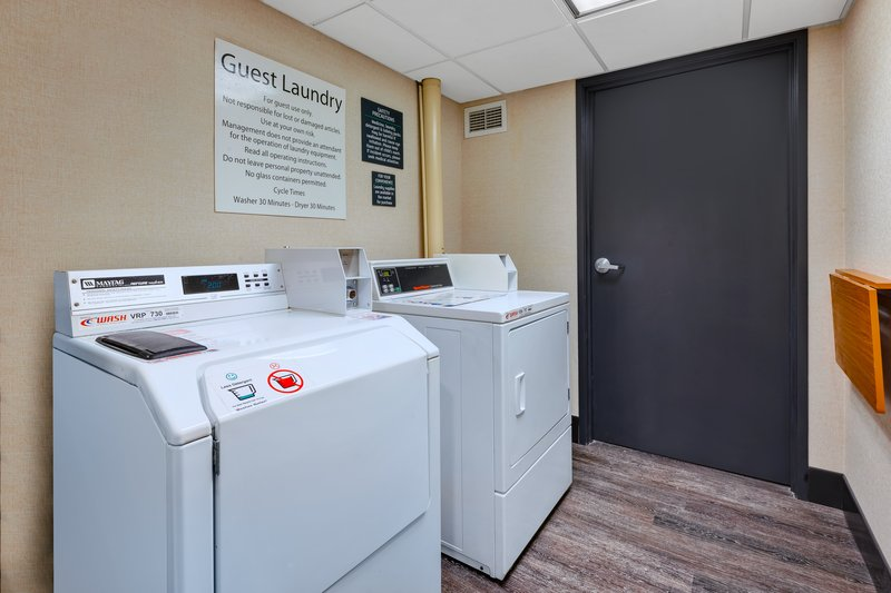 Holiday Inn Grand Rapids Downtown-Guest Laundry <br/>Image from Leonardo