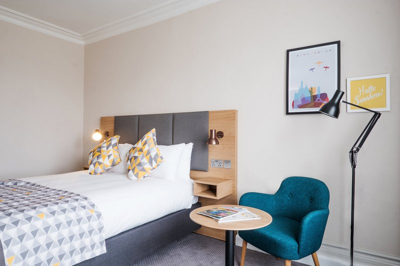 Holiday Inn Farnborough-Relax in our hotel room's double bed<br/>Image from Leonardo