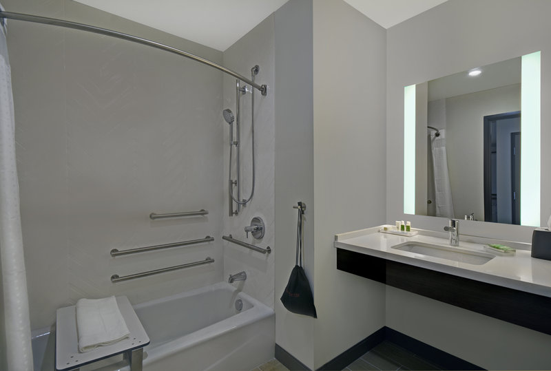 Holiday Inn Grand Rapids North-Guest Bathroom Mobility Accessible Tub<br/>Image from Leonardo