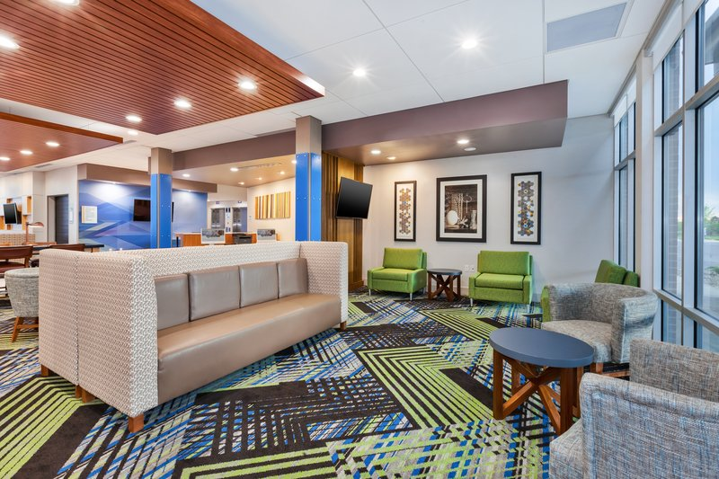Holiday Inn Express & Suites Grand Rapids Airport - South-Hotel Lobby<br/>Image from Leonardo