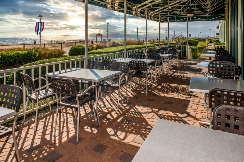 Holiday Inn Express And Suites Virginia Beach Oceanfront-Open Air Dining on the Patio!<br/>Image from Leonardo