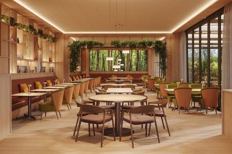Four Points by Sheraton Ljubljana Mons-Robin restaurant<br/>Image from Leonardo