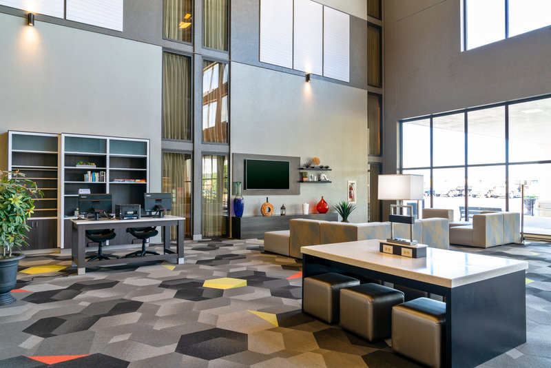 Holiday Inn Morgantown-Reading Area-Relax in our lobby or take advantage of our business center.<br/>Image from Leonardo