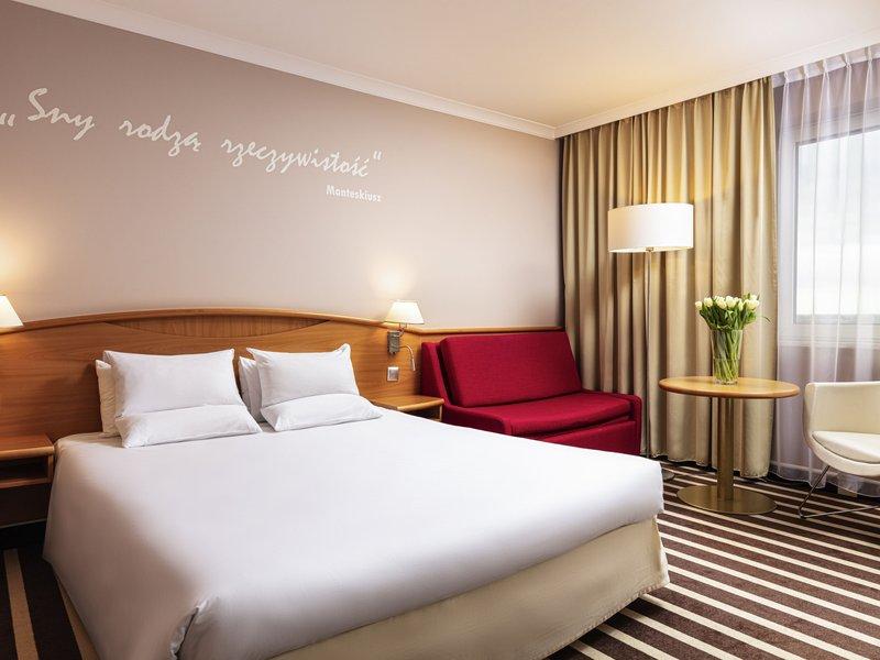 Novotel Poznan Centrum-Guest Room<br/>Image from Leonardo