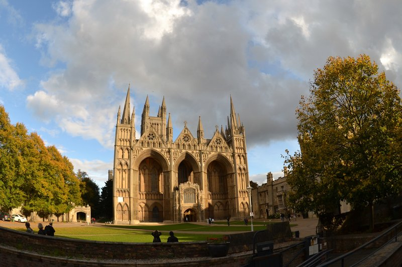 Holiday Inn Express Peterborough-Cathedral Square is a 15-minute drive away  © Geoffrey Gent<br/>Image from Leonardo