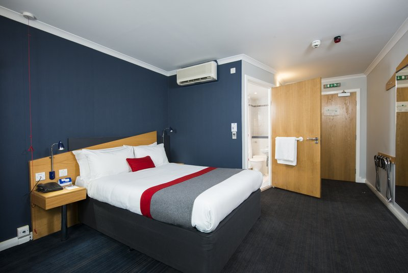 Holiday Inn Express Peterborough-Our spacious accessible rooms with wider door frames.<br/>Image from Leonardo