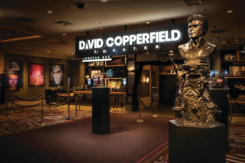 MGM Grand Hotel & Casino - David Copperfield <br/>Image from Leonardo