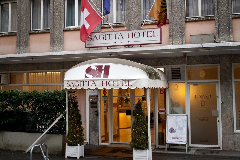 Hotel Sagitta Swiss Q-Entrance<br/>Image from Leonardo