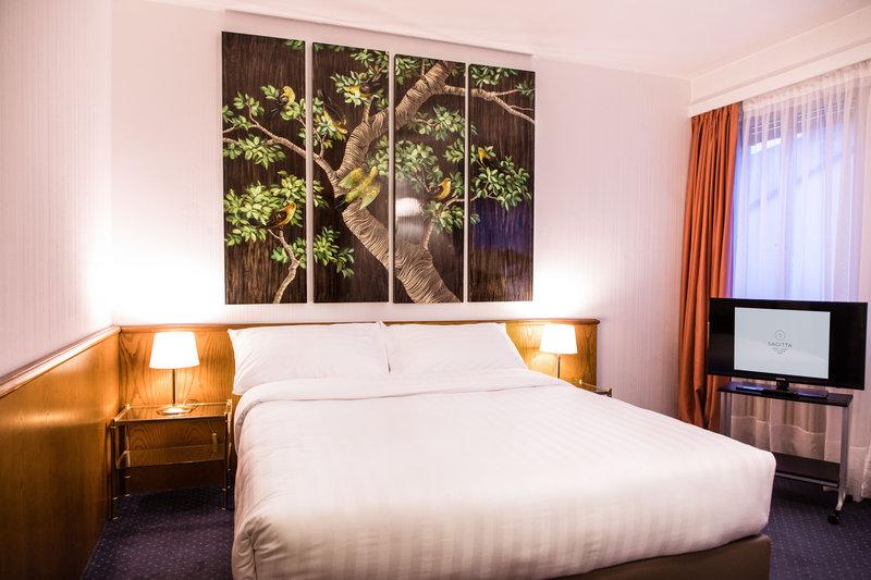 Hotel Sagitta Swiss Q-Standard Studio ,Double Bed<br/>Image from Leonardo