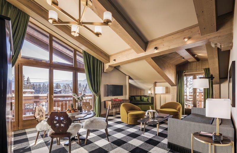 Mercure Courchevel Hotel-One Bedroom Suite Deluxe<br/>Image from Leonardo