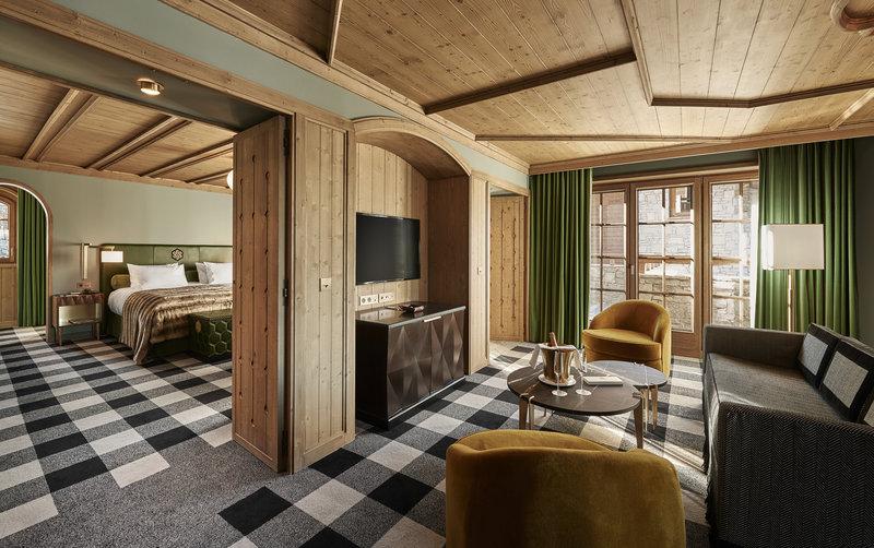 Mercure Courchevel Hotel-One Bedroom Suite Prestige<br/>Image from Leonardo