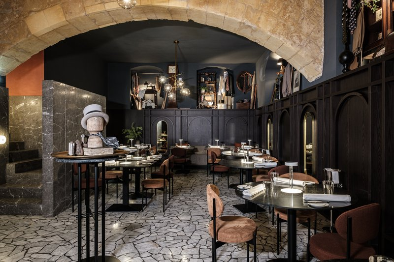 Rosselli AX Privilege-Under-Grain One-Star Michelin Restaurant<br/>Image from Leonardo