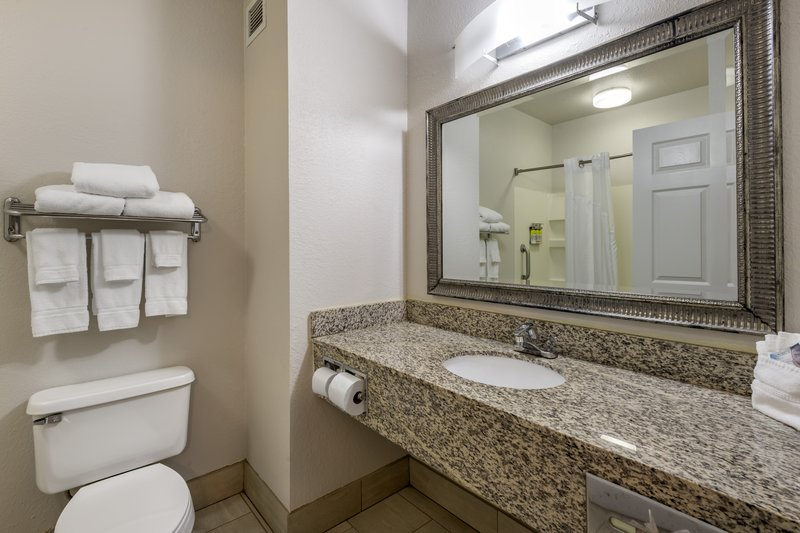 Holiday Inn Express & Suites The Villages-Guest Bathroom<br/>Image from Leonardo