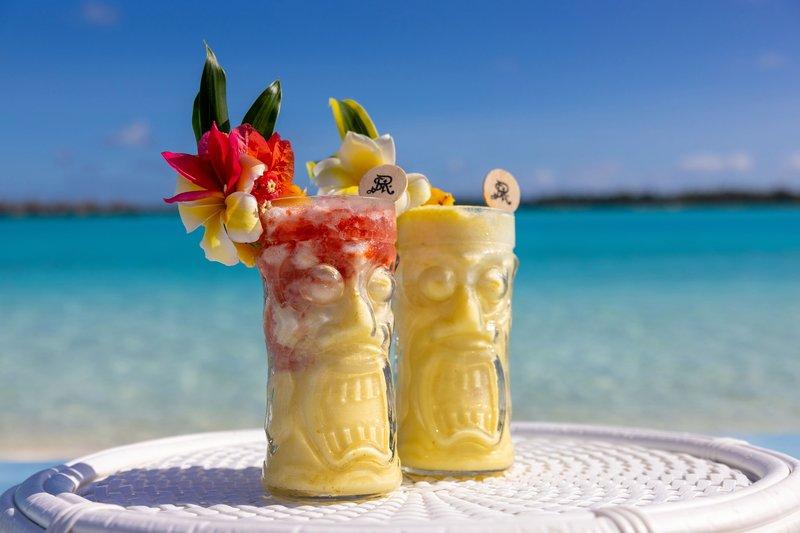 St Regis Resort Bora Bora - Drinks by the beach <br/>Image from Leonardo