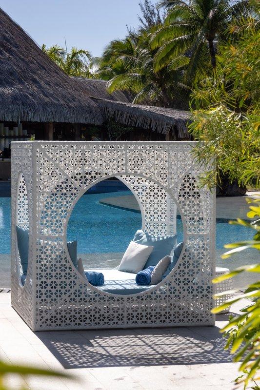 St Regis Resort Bora Bora - Main Beach Pool <br/>Image from Leonardo