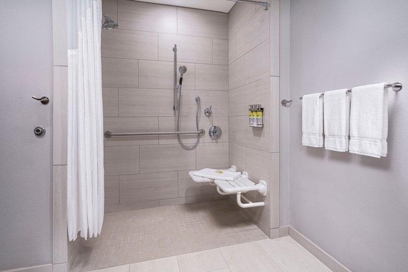 Holiday Inn Express & Suites Odessa I-20-Guest Bathroom<br/>Image from Leonardo