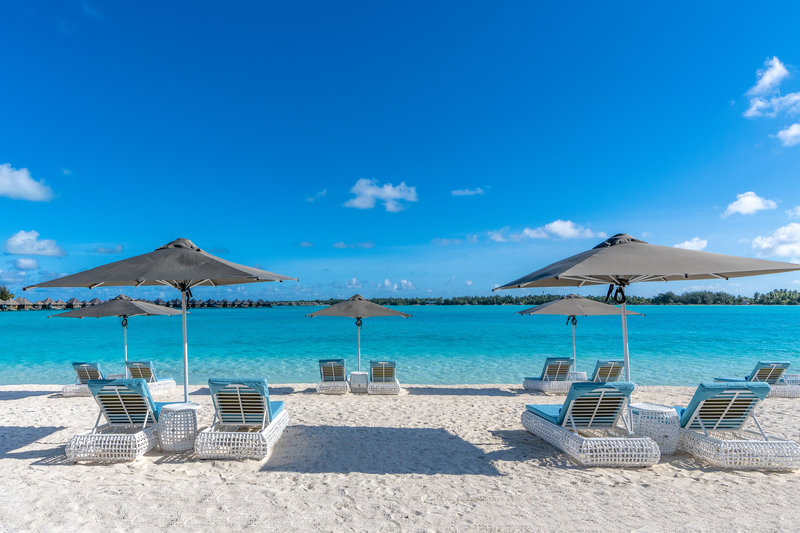 St Regis Resort Bora Bora - Main Beach area <br/>Image from Leonardo