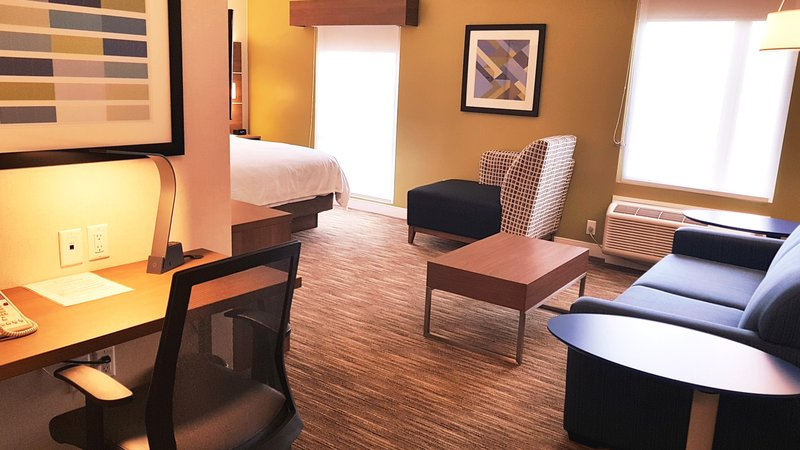 Holiday Inn Express & Suites Surrey-King Suite with jetted tub the spacious corner rms 219 319 419 <br/>Image from Leonardo