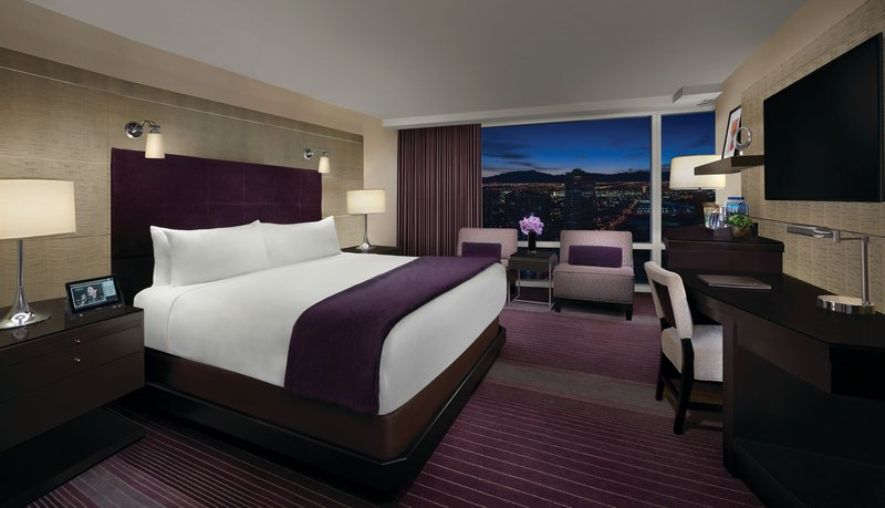 Aria Resort and Casino - Aria Deluxe King <br/>Image from Leonardo