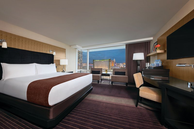 Aria Resort and Casino - Resort Club Lounge - King Room <br/>Image from Leonardo