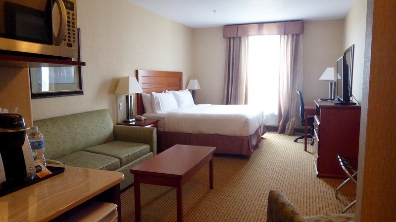 Holiday Inn Express & Suites Grande Prairie-King Bed Suite With Pull Out Sofa Bed<br/>Image from Leonardo