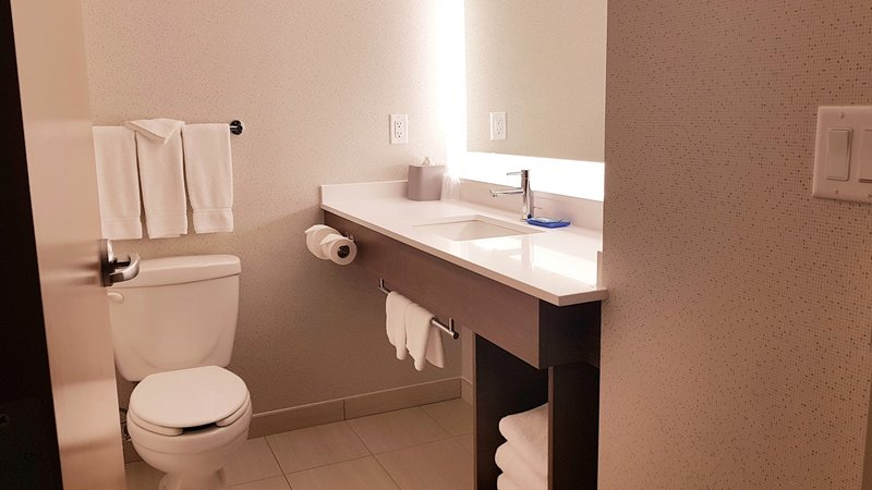 Holiday Inn Express & Suites Surrey-Bright, clean and perfect for getting ready for your day<br/>Image from Leonardo