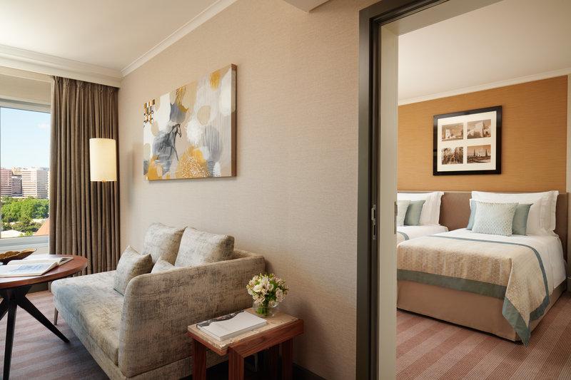 Corinthia Hotel Lisbon-Corinthia Lisbon Connecting Room Jack Hardy<br/>Image from Leonardo