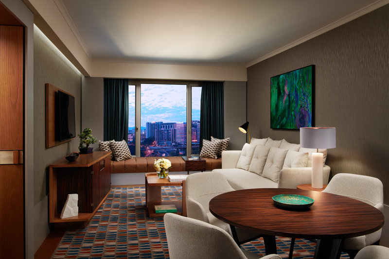 Corinthia Hotel Lisbon-Corinthia Lisbon Executive Suite Livingroom<br/>Image from Leonardo