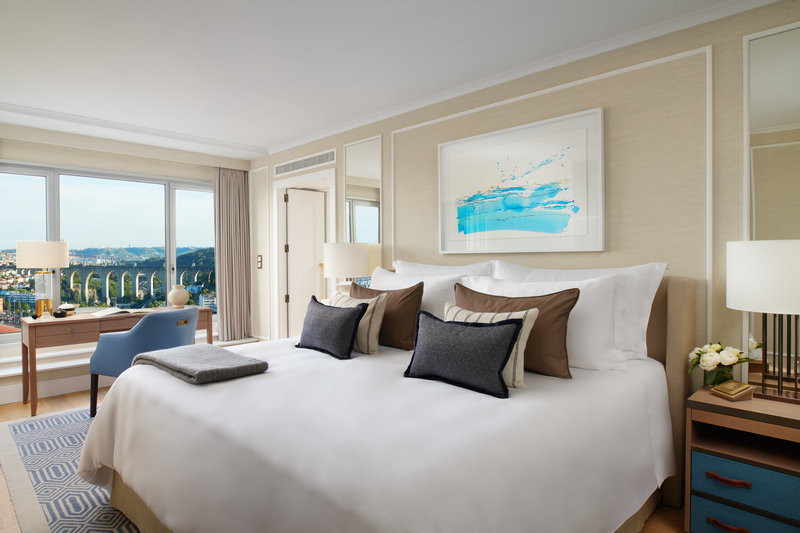 Corinthia Hotel Lisbon-Corinthia Lisbon Maritime Suite Bedroom A<br/>Image from Leonardo