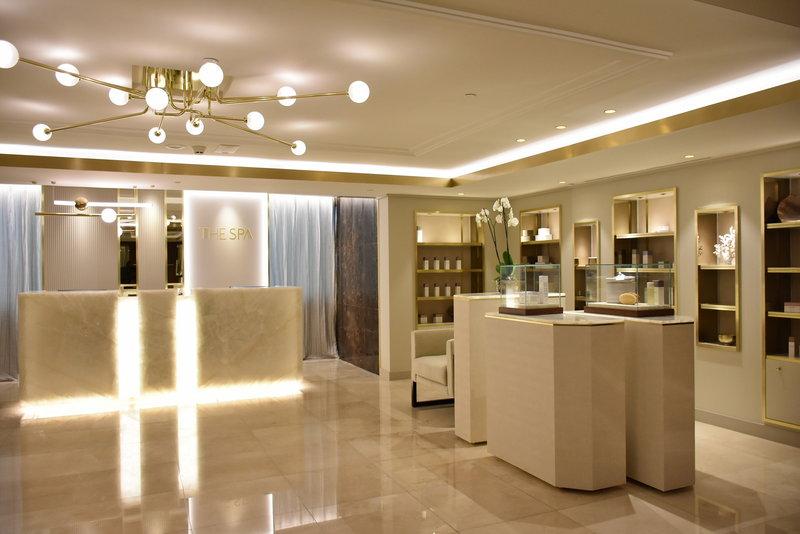 Corinthia Hotel Lisbon-The SPA reception<br/>Image from Leonardo