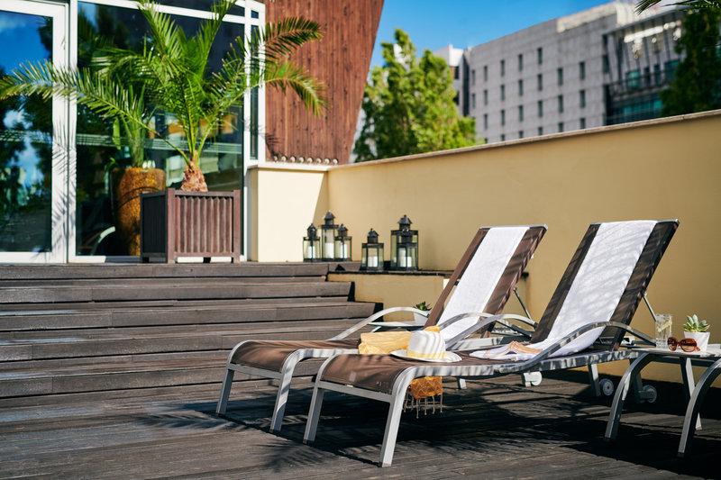 Corinthia Hotel Lisbon-Corinthia Lisbon Spa Exterior Lifestyle Jack Hardy<br/>Image from Leonardo