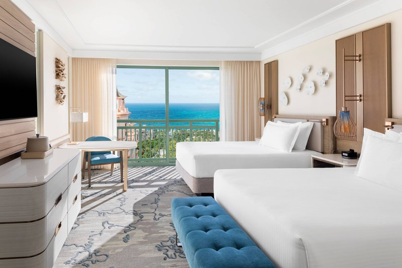 The Royal at Atlantis-Premium Double Queen Water View<br/>Image from Leonardo