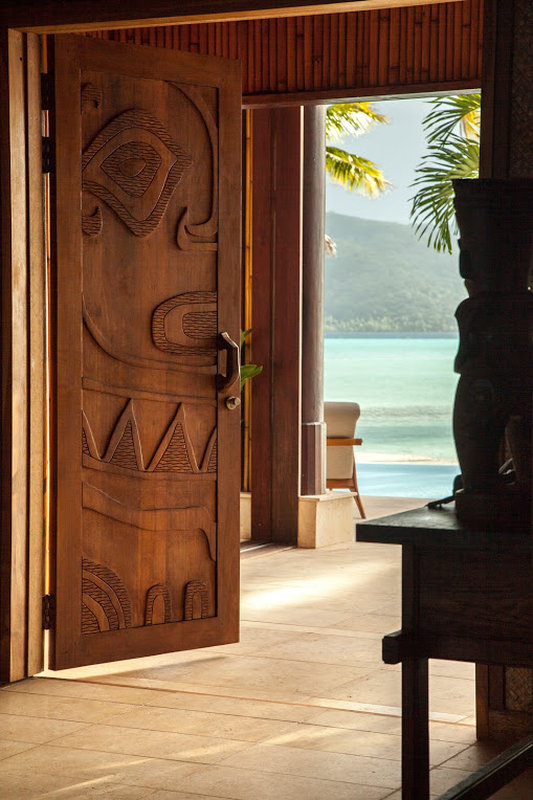 Vahine Island-Main Patio Entrance<br/>Image from Leonardo