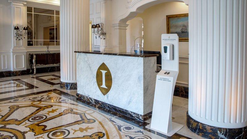 Intercontinental Porto - Palacio das Cardosas-Concierge Information Desk <br/>Image from Leonardo