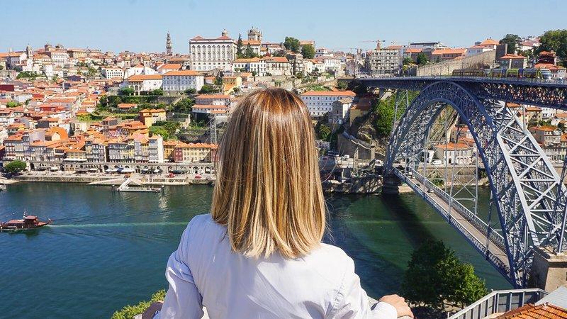 Intercontinental Porto - Palacio das Cardosas-Enjoy the D Luis Bridge a  double-deck metal arch bridge<br/>Image from Leonardo