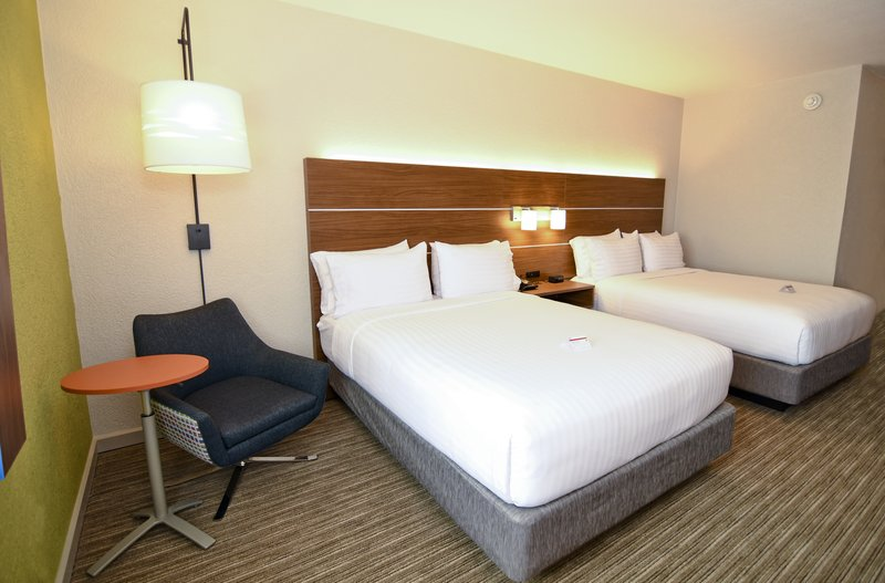 Holiday Inn Express Flint-Campus Area-2 queen bed accessible<br/>Image from Leonardo