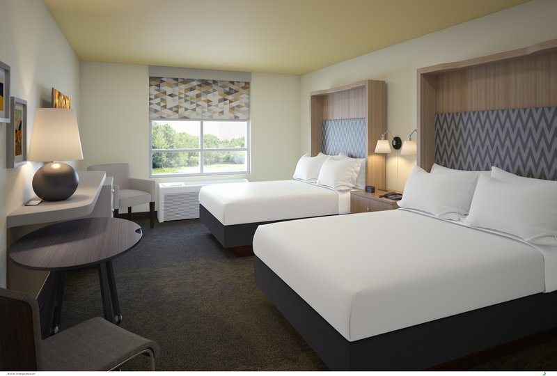 Holiday Inn Flint - Grand Blanc Area-Spacious Two Queen Bed Rooms   Perfect for families.<br/>Image from Leonardo