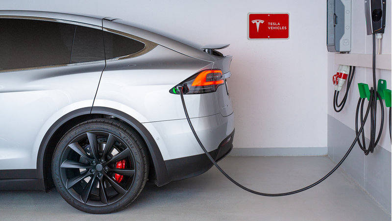 Berlin Airport Conference Centre-Charger for electronic vehicles<br/>Image from Leonardo