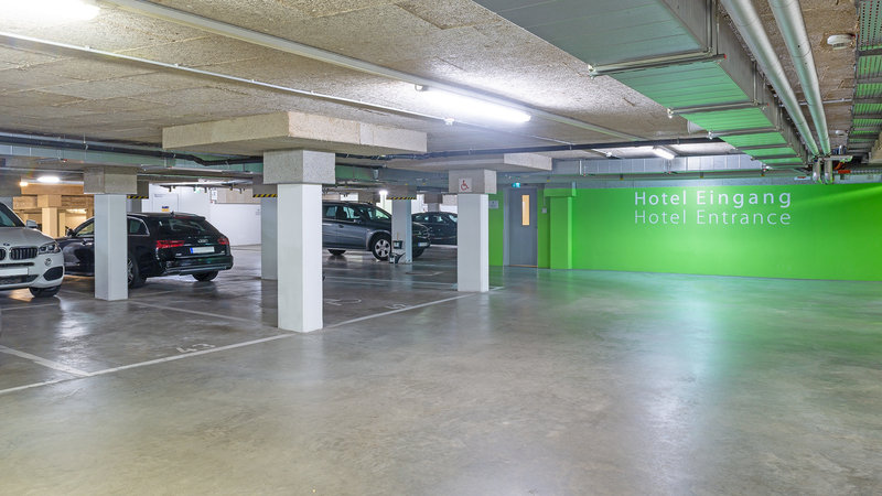 Berlin Airport Conference Centre-Parking<br/>Image from Leonardo