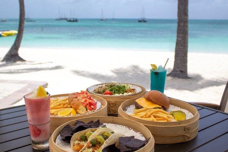 Aruba Marriott Resort - Waves Beach Bar & Grill <br/>Image from Leonardo