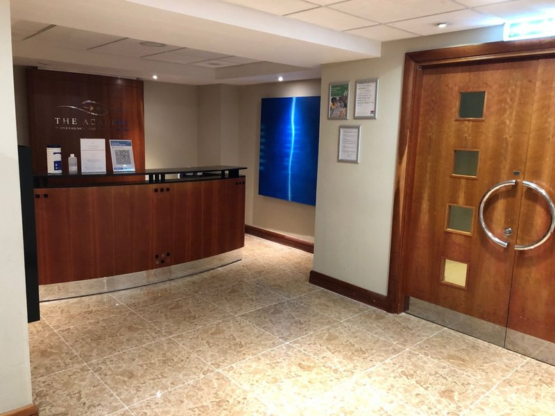 Holiday Inn Maidstone - Sevenoaks-Academy reception<br/>Image from Leonardo